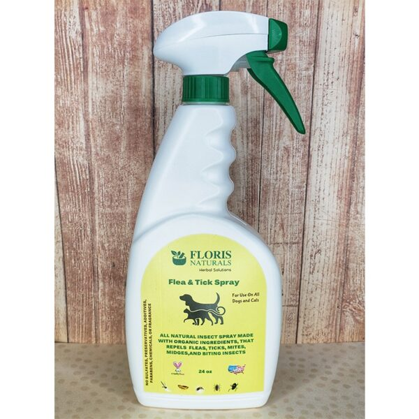 Floris Naturals – Flea and Tick Spray 24oz